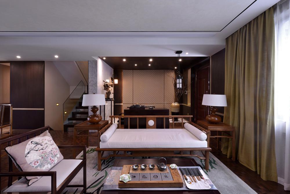 滨湖国际8#样板房陈设设计
